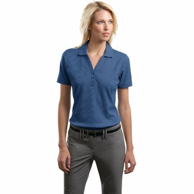 Port Authority Women's Polo Shirt: Performance Waffle Mesh Y-Placket (L492)