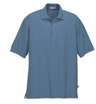 Extreme Men's Polo Shirt: Edry Cotton Blend Mini Ottoman (85045)