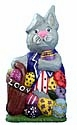 Patriotic Easter Bunny  Rabbit  Decoration