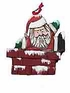 Wood Fok Art Christmas Ornament #12203