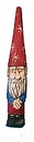 Garden Gnome wood carving #13065