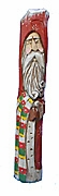 Pencil Santa Claus with Quilt #13087