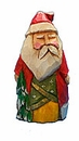 Collectible Resin Old World Santa Claus