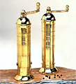 Atlas Greek Pepper/Salt Mills Brass