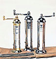 Atlas Greek Pepper/Salt Mills Chrome