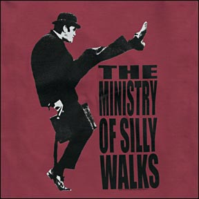 Monty Python Ministry Silly Walks T-shirt