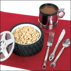 Engine-er Place Setting - BEST SELLER