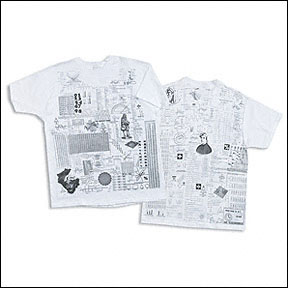 Math Cheat Sheet T-shirt