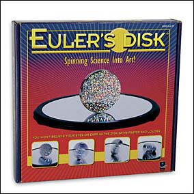 Euler's Disk Spinning Desk Toy
