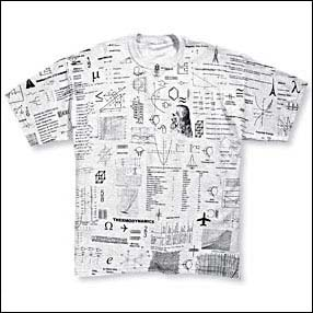 Exclusive All-over Engineer Cheat Sheet T-shirt