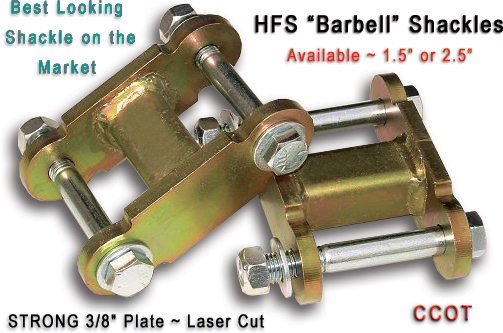 Shackles - HFS™ - Barbell Shackles #1