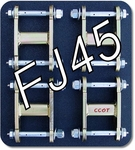 "Shackles - HFS™ - FJ45 - '58-7/'80 - Set 4ea - 2-1/2"" - 15mm & 18mm Grease Bolts"