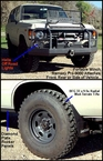 Portable Winch and Tires