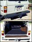 Rear CCOT Bumper and PVC Cargo Area