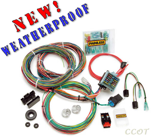 Fj40 wiring harness kit