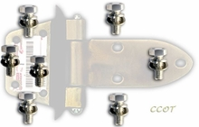 Bolt Kit - Front Door Hinge - FJ & BJ - '63 -'84