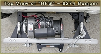 Top View of HFS™ 8274 Bumper
