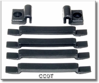 Hood Pad Kit - Rubber Cushion - 4ea  front & 2ea side