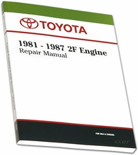 Manual - 2F Engine Repair - '81- '87 - TOYOTA