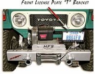 "License Plate Front ""T"" Bracket w/SST Hardware"