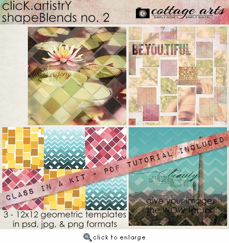 CLASS-IN-A-KIT: Click.Artistry ShapeBlends 2