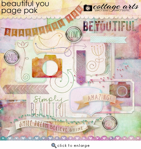 Beautiful You Page Pak