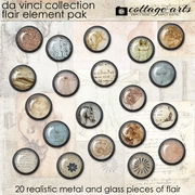 Da Vinci Collection Flair Element Pak