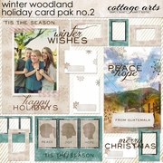 Winter Woodland 2 Holiday Card Pak