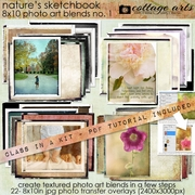 Nature's Sketchbook - Photo Art Blends 1