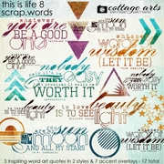 This Is Life 8 Scrap.Words