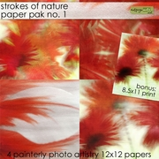 Strokes of Nature 1 Paper Pak