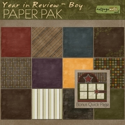 Year in Review - Boy Paper Pak w/Bonus