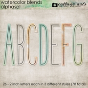 Watercolor Blends AlphaSets