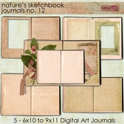 Nature's Sketchbook - Journals 12