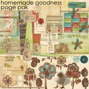 Homemade Goodness Page Pak