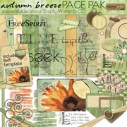 Autumn Breeze Page Pak