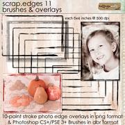 Scrap.Edges11 - Brushes & Overlays
