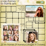 Scrap.Frames 11 - TTV Frame Sets