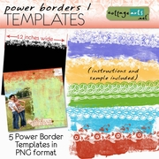 Power Borders 1 Templates