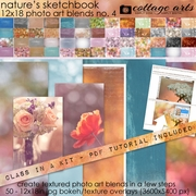 Nature's Sketchbook - Photo Art Blends 4