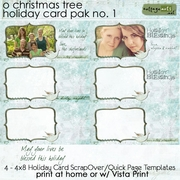 O Christmas Tree Holiday Cards 1