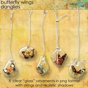 Butterfly Wings Danglies