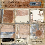 Destinations 12x12 Album Pak