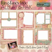 Fun & FancyFree 6-Pak ScrapOver Album