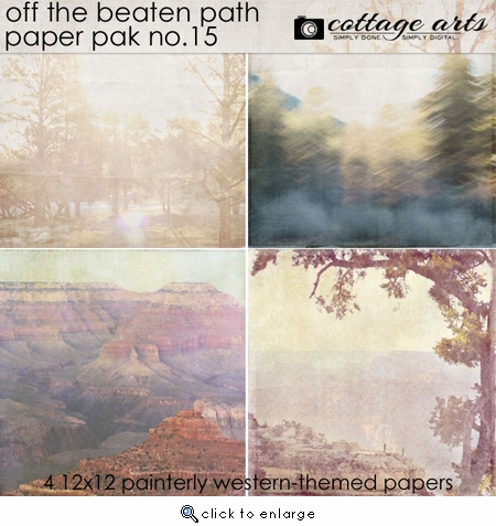 Off the Beaten Path 15 Paper Pak