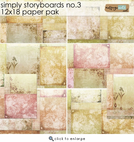 Simply Storyboards 3 - 12x18 Paper Pak
