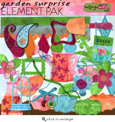 Garden Surprise Element Pak