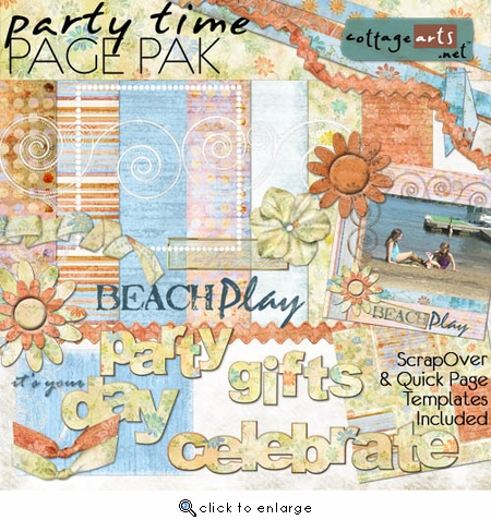 Party Time Page Pak w/Bonus Templates