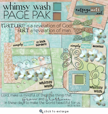 Whimsy Wash Page Pak