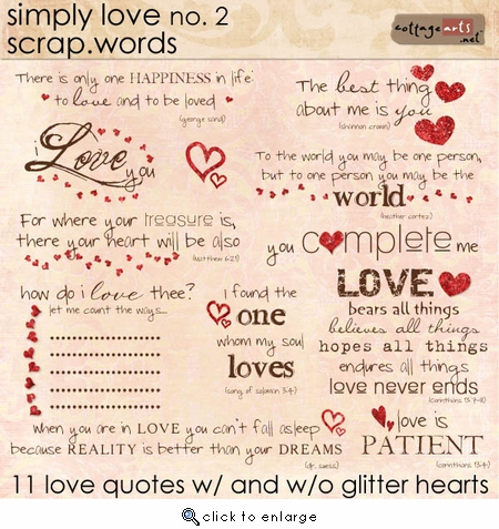 Simply Love 2 Scrap.Words
